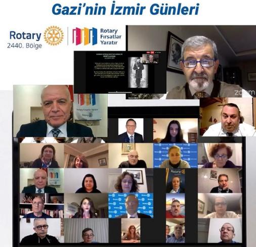 """2440 Bölge Cumhuriyet Kazanımları Komitesi """"Gazi'nin İzmir Günleri"""" 1 Mart 2021"""