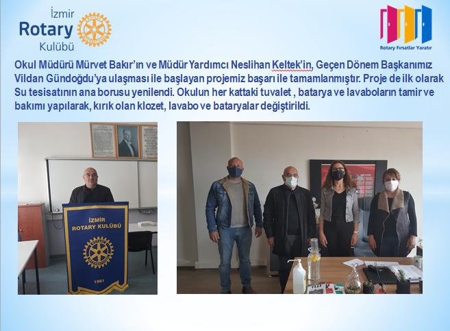 Ahmet Şefika Kilimci Özel Eğitim Uygulama Okulu  Sıhhi Tesisatı Bakım Onarım ve Yenileme Projesi