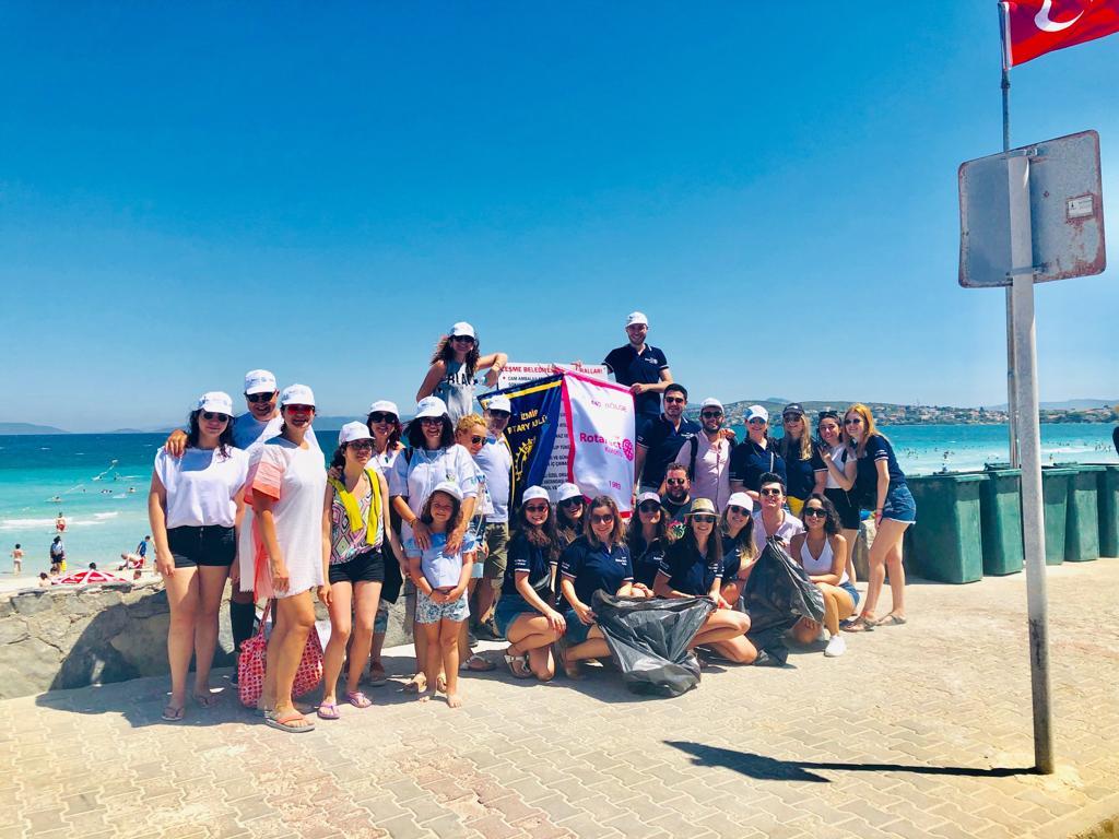 Çeşme Kıyı Temizliği 21 Temmuz 2019