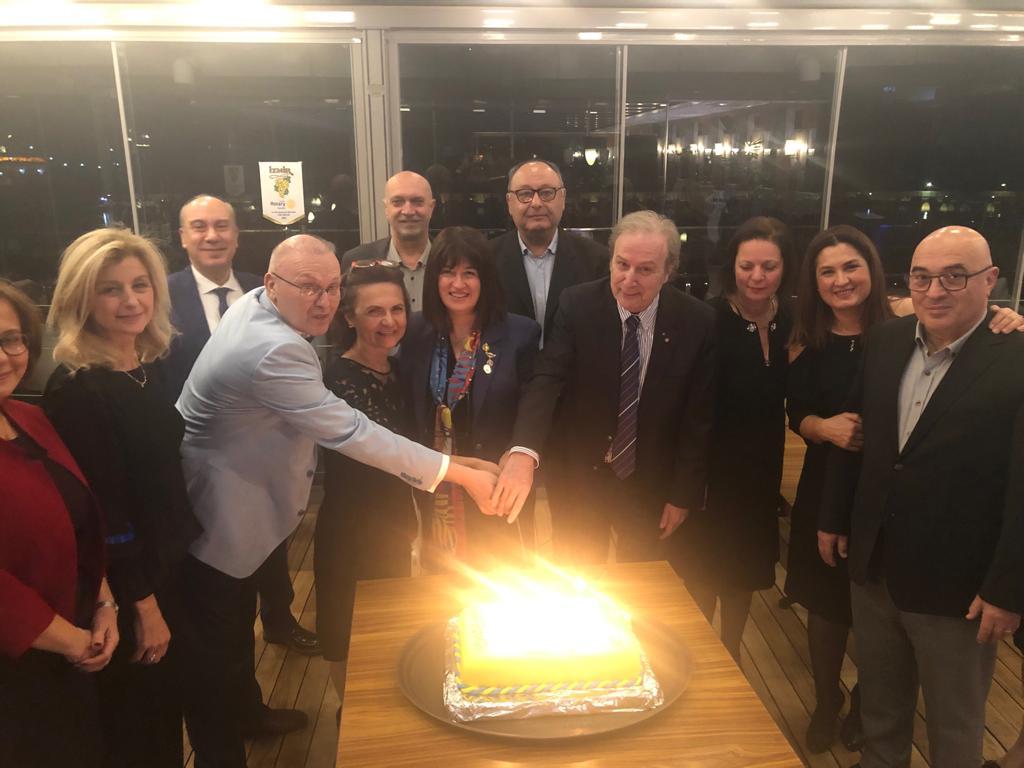 İzmir Rotary Kulübü 59. Kuruluş Yıldönümü 11-12 Ocak 2020