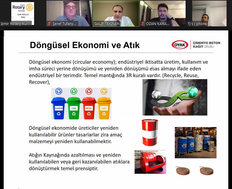 İzmir RK DÜNYA ÇEVRE GÜNÜ Zoom Online Toplantısı 9 Haziran 2020